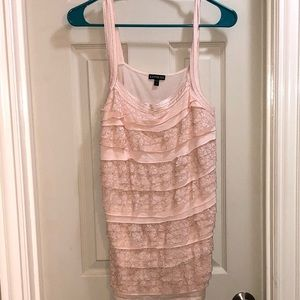 Lace Front Express Tanktop